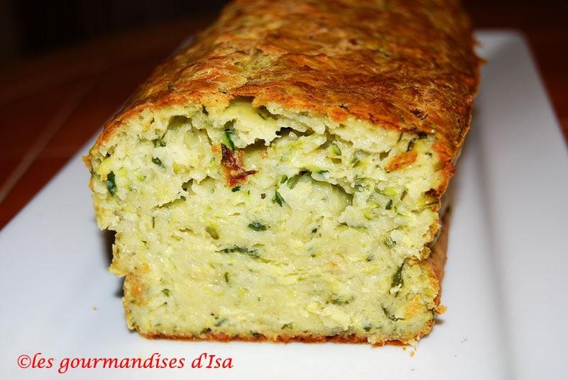 Cake Aux Courgettes Lardons Gruy Ef Bf Bdre