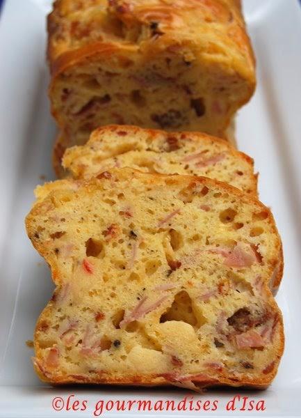 Cake Tomates Sechees Gruyere Choryso