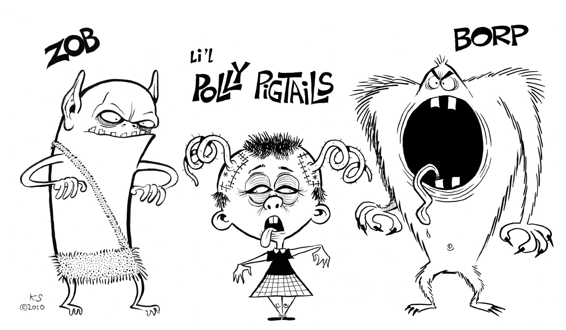 KW Monsters Blog of Evil: October 2010