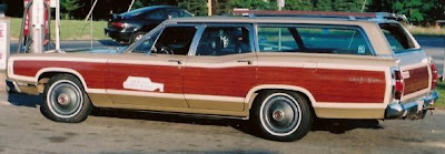 1969 Ford station wagon