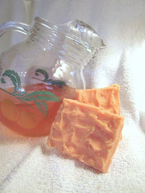 Dreamsicle Soap
