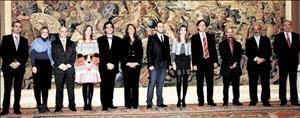 La Fundación Abracadabra llena de magia el Palacio de la Zarzuela. Video con la Princesa Letizia.
