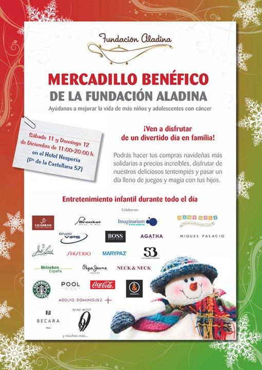 Hoy Domingo Senasacional Mercadillo de la Fundación Aladina. hasta las 20:00 hrs. Imagenes de la animada jornada de ayer.
