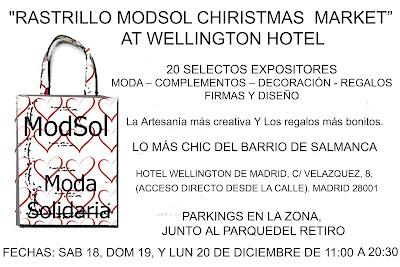 "RASTRILLO HOTEL WELLINGTON ""MODSOL CHIRISTMAS MARKET"""