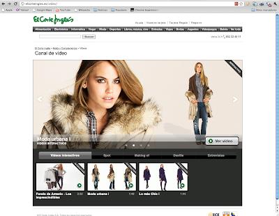 El Corte Inglés lanza un nuevo probador virtual en su web de moda,  apto también para IPhone y Facebook