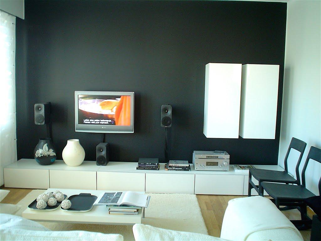 Reka Hias Rumah Teres Memilih Warna Cat Dinding Ruang Tamu