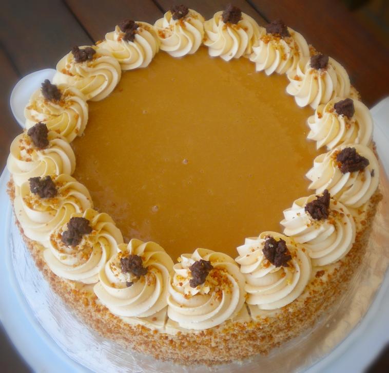 Chocolate Cake With Dulce De Leche Filling Recipe