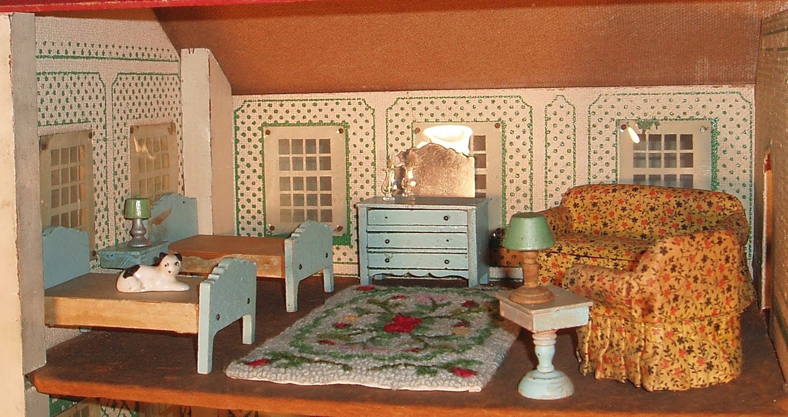 My Vintage Dollhouses   Blogger