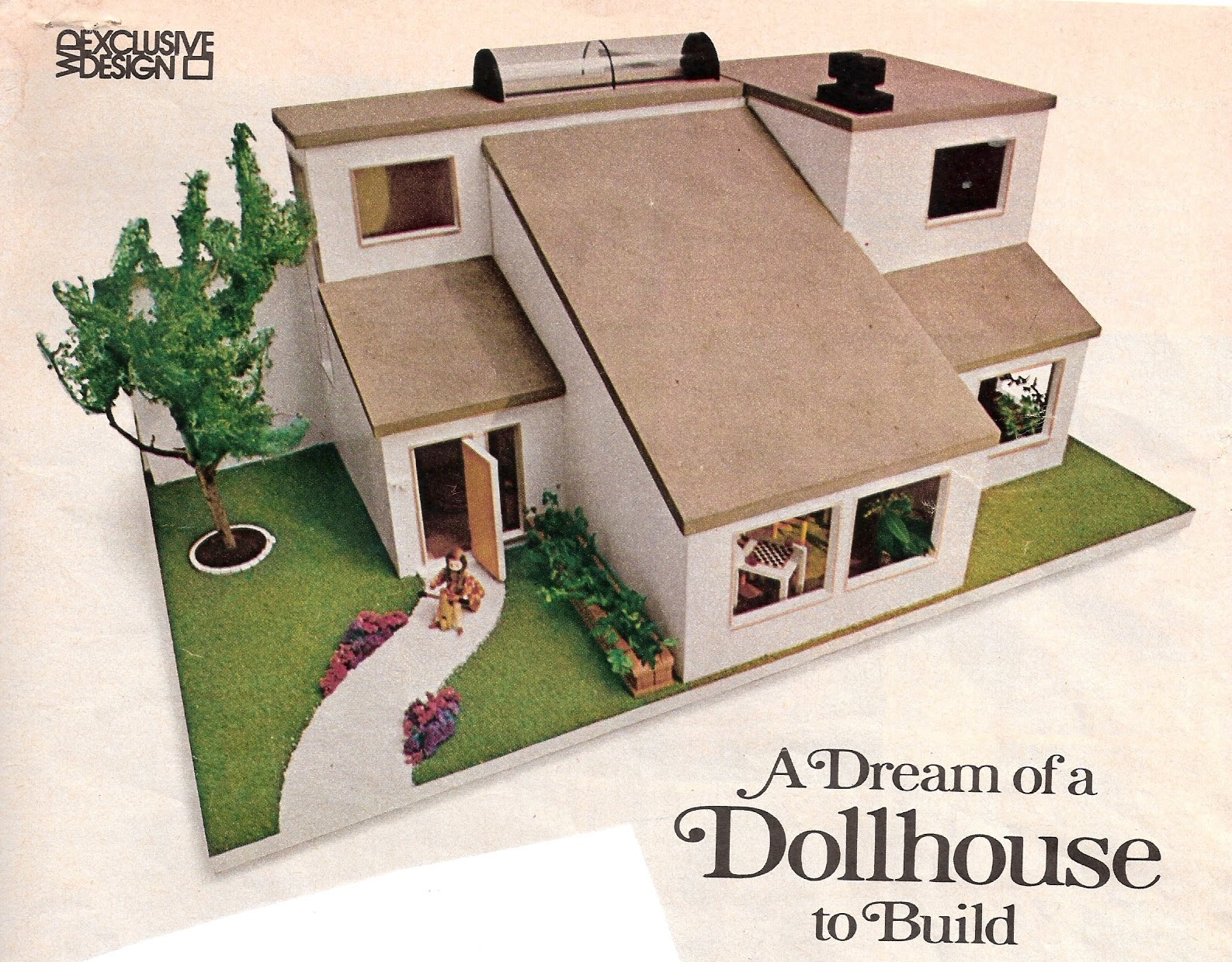 My vintage dollhouses a modern dollhouse now on ebay for Order of building a house