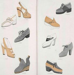 1940s shoe styles