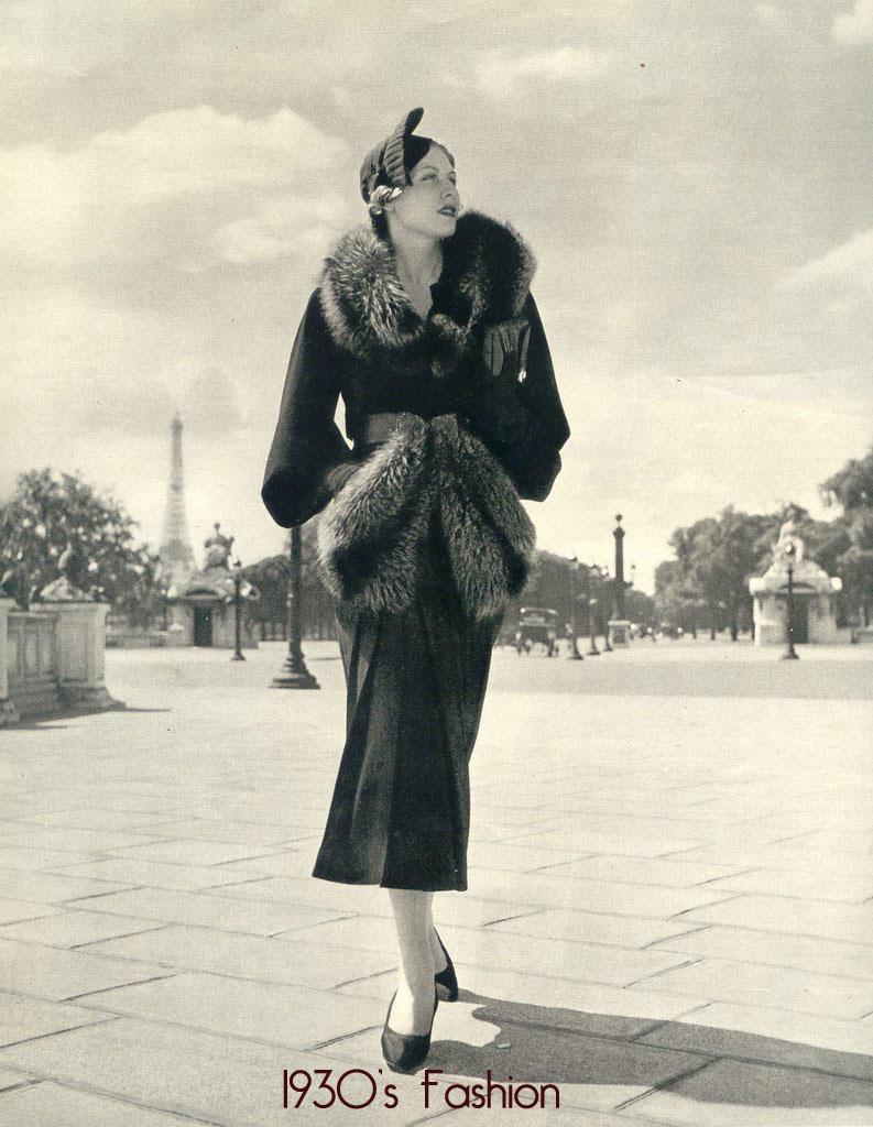 1930's Street Fashion For Women