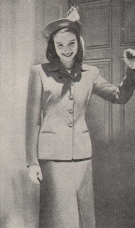 Suit for Church, Street, business and Travel 1940s