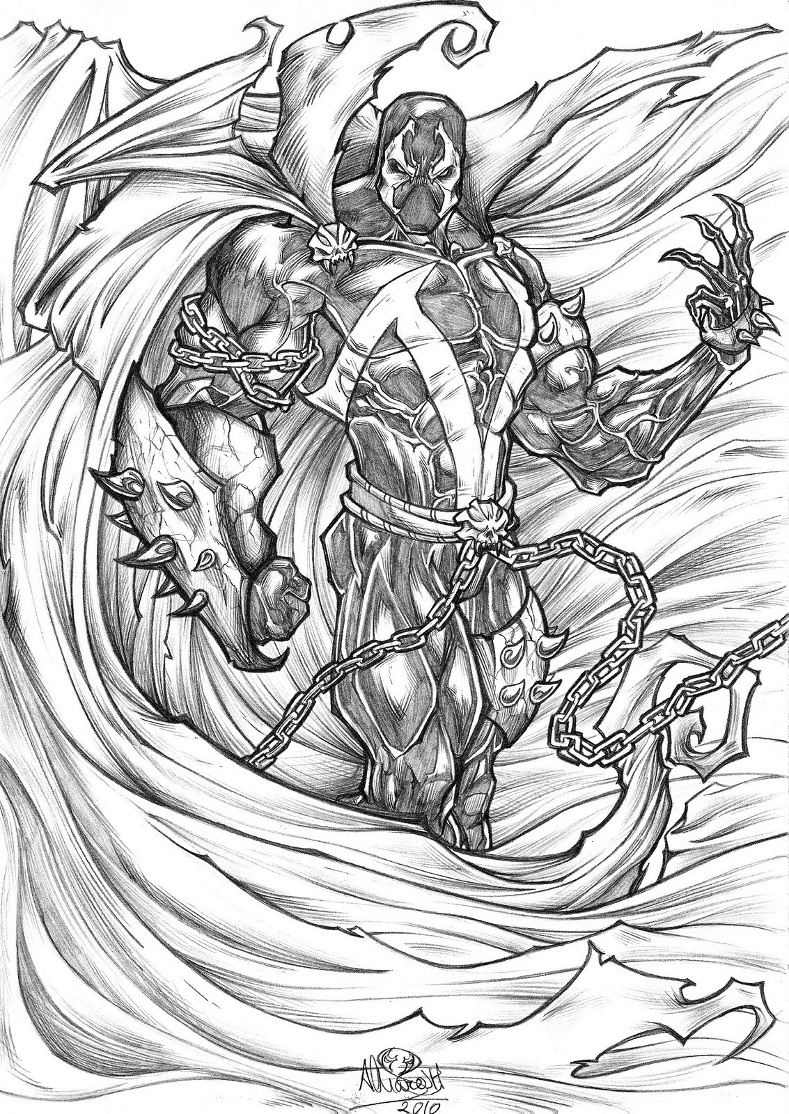 Uncategorized Spawn Coloring Pages spawn coloring pages laura williams pages