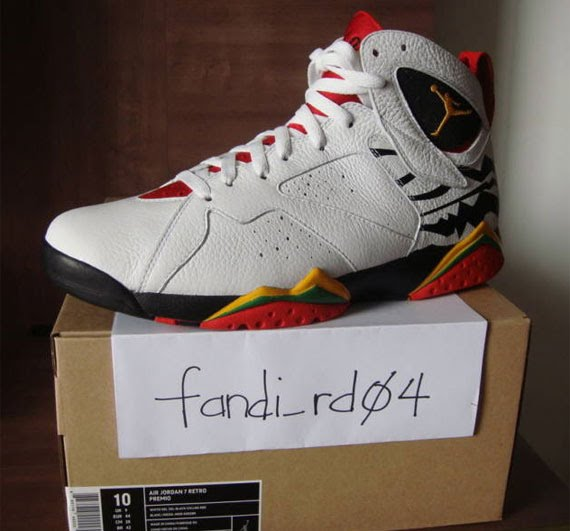 sports shoes 90a51 46ade New images of the Air Jordan VII(7)