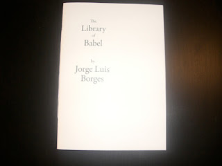 Kári Emil Helgason | Portfolio: Chapbook: The Library of Babel