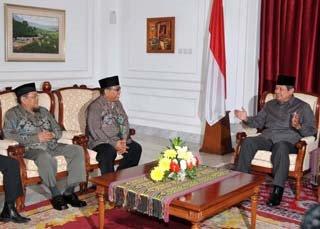 Presiden bertemu pengurus DPP LDII