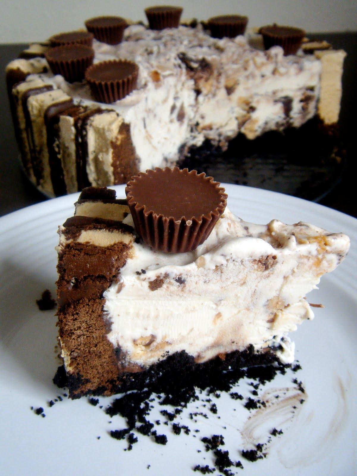 Clutzy Cooking Easy Peasy Ice Cream Cake