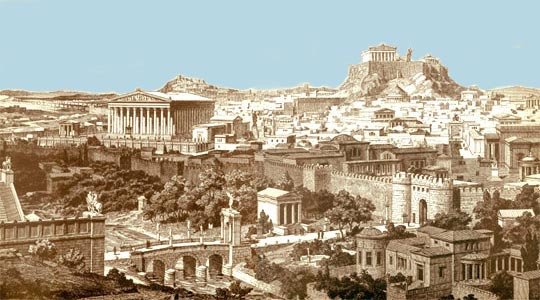 Greece In Pictures Athens Greece Pictures