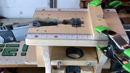 Mini Table Saw Router & Other Homemade Tools