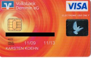 Kartennummer Volksbank Debit.Australien Tagebuch Visa Card Und Reisepass