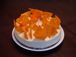 Willow S Cakes Rene S Birthday Dorito Cheesecake