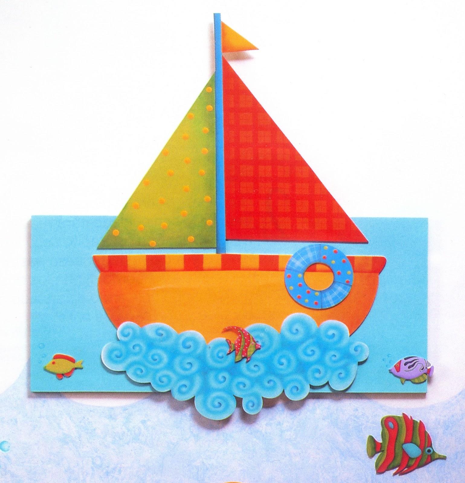 El taller de anita cuadros infantiles - Imagenes de barcos infantiles ...