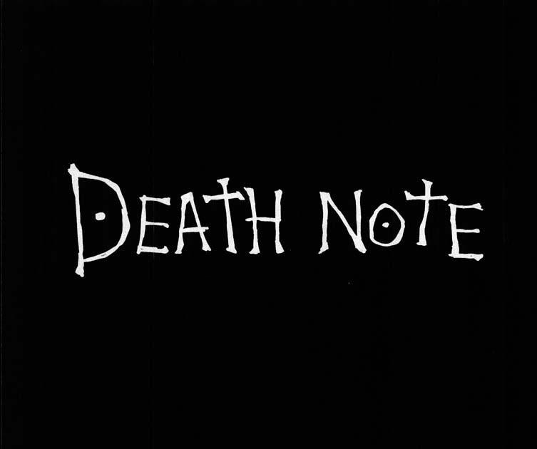 Death Note Libro De La Muerte