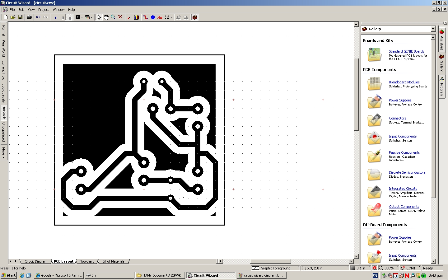 Speaker Design Circuit Diagrams Make Diagram Simple Converted So To Show Components And Also For The Cut Out Onto Pcb Board