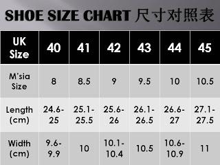 Size Zakar Lelaki Malaysia Cara Cara Ukur Kaki Untuk Saiz