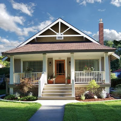 Bonjour y 39 all day 16 dream house - What is a craftsman style house ...