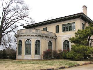 Historic Tulsa Tulsa Garden Center Donald Travis Mansion 1920