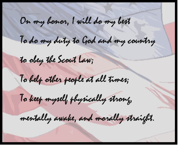 Troop 1 Scout Oath Motto And Slogan