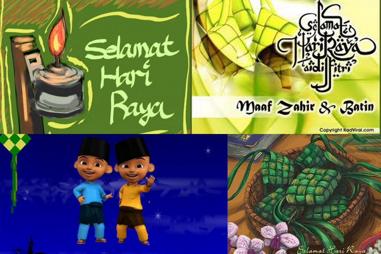 Small Animals77 Selamat Hari Raya Aidil Fitri Maaf Zahir