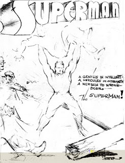 I love this sketch, and I really wish it had been made into a cover before the '90s.