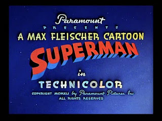 That might be the first Superman logo with a rounded 'u'. God I'm a dork.