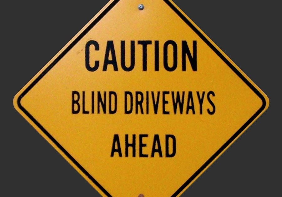 Slow Down Signs >> TravelMarx: Blind vs. Hidden Driveway