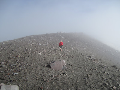 Mount St Helens - About 1000 feet from the top