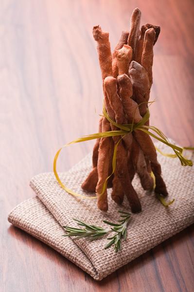 Гризини с три вида брашно и розмарин ♥ Tree type flour grissini with rosemary