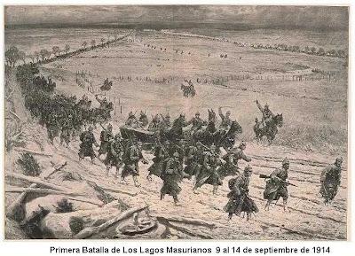 Resultado de imagen de batalla de los lagos masurianos