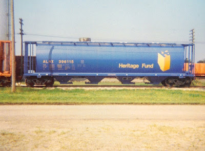 Trackside Treasure Canada S Cylindrical Grain Cars