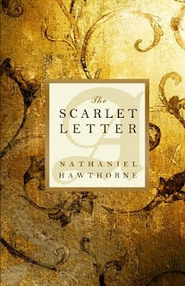 The Scarlet Letter by Nathaniel Hawthorne book cover