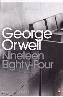 Nineteen Eighty-Four by George Orwell book cover