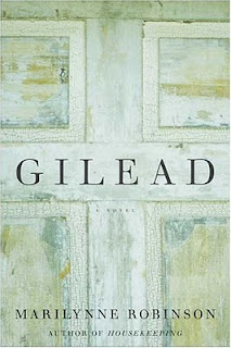 Gilead by Marilynne Robinson book cover