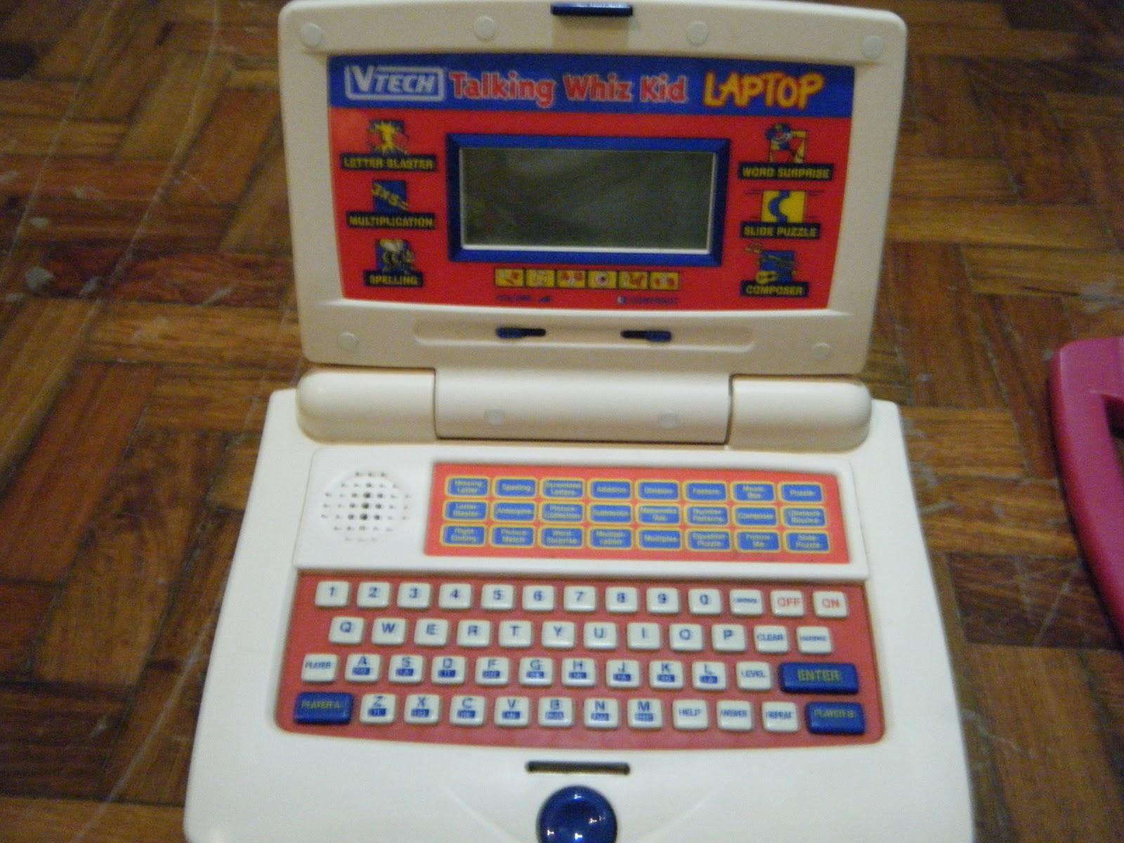 Betere Baby Lucky Baby: VTECH TALKING WHIZ KID LAPTOP 999P RF-79