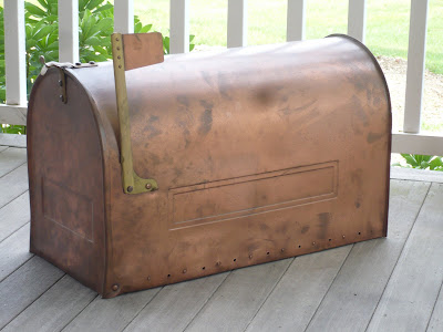 For Years I Have Coveted A Copper Mailbox From Smith Hawken Remember Being Introduced To Their Catalog Probably Twenty Ago