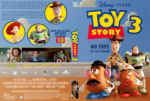 Toy Story 3 Blu-ray/DVD Full Details (Press Release ...  Toy Story 3 2010 Dvd
