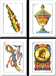 Cartas Espanolas Tarot Los 4 Elementos Juego De Cartas Espanolas