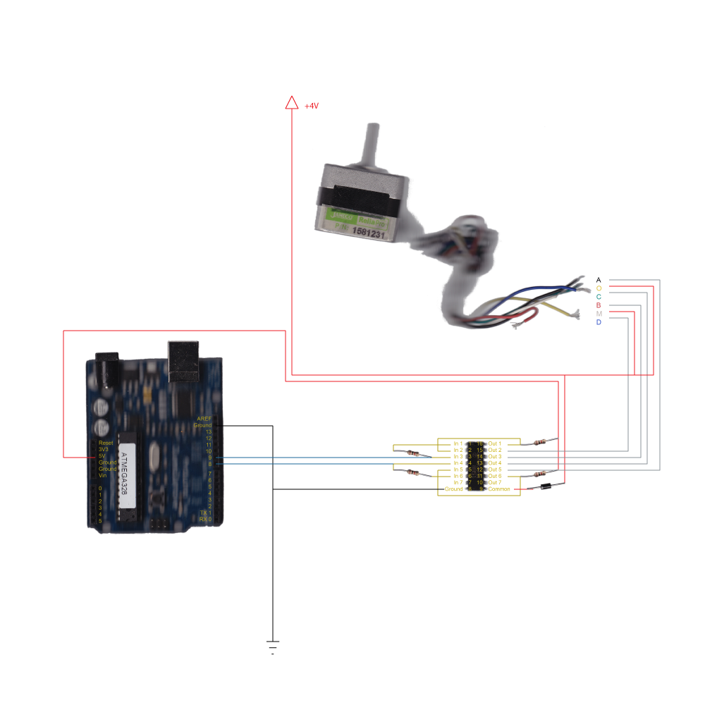 Atlas Contents: Arduino + Unipolar Stepper Motor