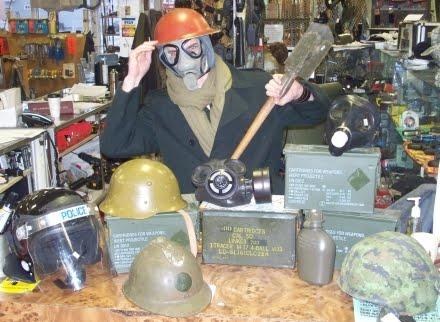 MILITARY SURPLUS & The Halifax Army Navy Store: MILITARY SURPLUS