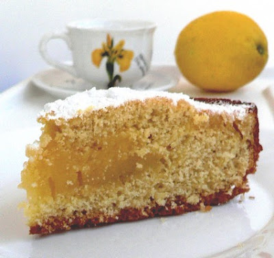 Lemon Custard Cake : Patisserie Dessert with Thermomix